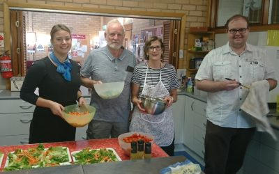 Rotary assists with Community Meal