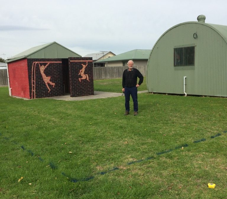 New Shed Location
